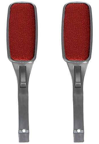 McKay Powerful Lint Brush, Fabric and Clothes Cleaner: Also Pet Hair/Dust Remover, with Pop-up Multi-Directional swivel head (2 Pack)