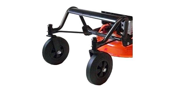 LAZER KIT2W - Accesorio para desbrozadora con ruedas, juego de 2 ...