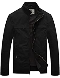 Men's Stand Collar Lightweight Military Jacket