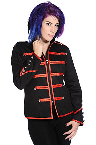 Banned-Military-Drummer-Red-Jacket