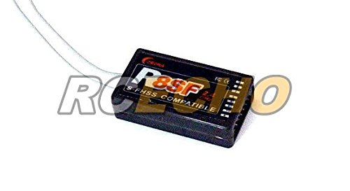 RCECHO/® Corona RC Model R8SF S-FHSS Compatible 8ch 2.4GHz R//C Hobby Receiver RV116 with 174; Full Version Apps Edition