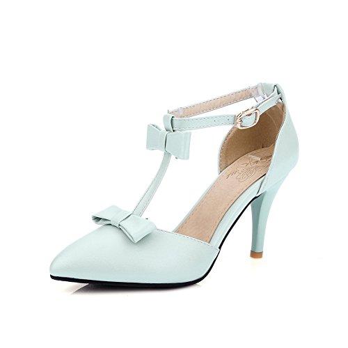 AdeeSu Womens Cold Lining High-Heel Non-Marking Urethane Sandals SLC03883 Blue Q2tibKET