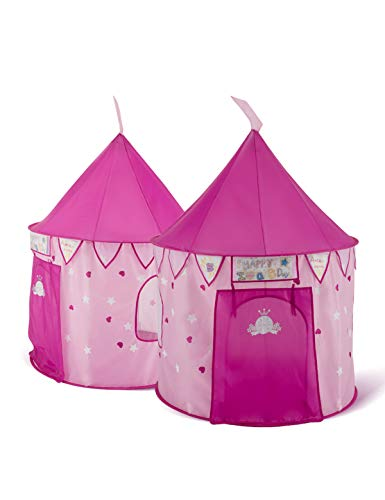 Bestmart INC Princess Castle Play Tent Designer's Play Outdoor House Play Hut Children's Play Tunnels Girl's Living Room Toy Storage by Bestmart INC