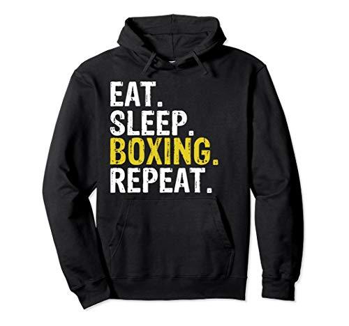 Eat Sleep Boxing Repeat Gift Hoodie