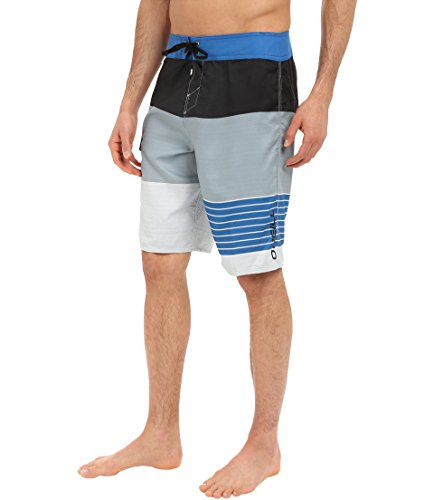 O'Neill Men's Avalon Lennox Comfort Boardshort, Blue Slate - 32 (Suede Boardshorts Embroidered)