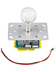LED Colorful Illuminated Joystick Switchable from 4 to 8 Way Operation for Arcade Game DIY