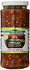Tallarico's Hoagie Spread - Hot -comes packed singly- 12 FL oz. Tallarico's Hoagie Spread is ideal for Hot Dogs, Hoagies, Sandwiches. A delicious topping to savor with every bite.