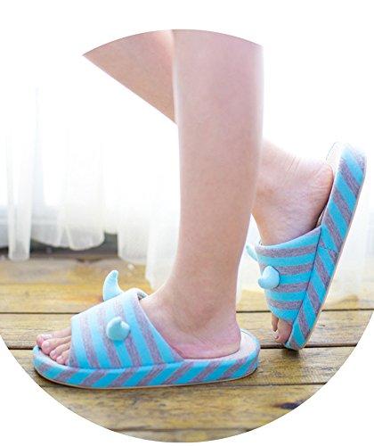 VWU - Zapatillas de estar por casa para mujer Verde
