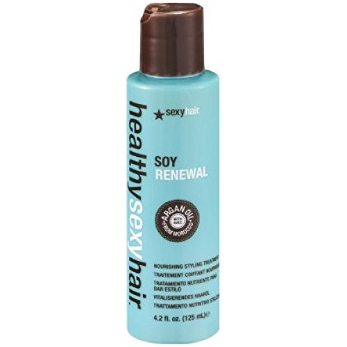 Healthy sexy hair soy renewal oil