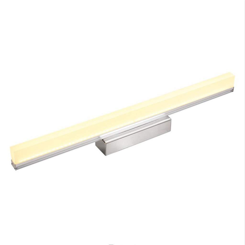 badezimmerlampe Badezimmer-Spiegel beleuchtet LED-Wand-Beleuchtung-wasserdichter Spiegel-Aufbereiter-Frontleuchte-Make-uplicht (Farbe   weißes Licht-40CM 7W)