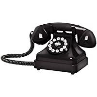 Crosley CR62 Kettle Classic Desk Phone Black