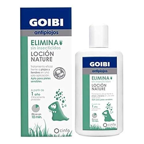 goibi antipiojos elimina locion nature