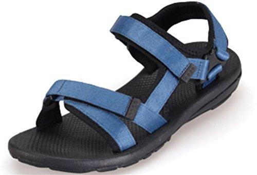 Vrouwen Platte Sportieve Strand Sandaal Water Schoenen Casual Atletische Sandalen Blauw