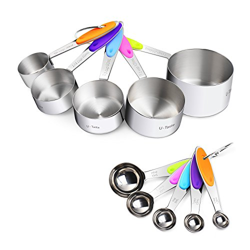 U Taste Piece Measuring Spoons Stainless product image