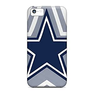 Flexible Tpu Back Case Cover For Iphone 5c - Dallas Cowboys
