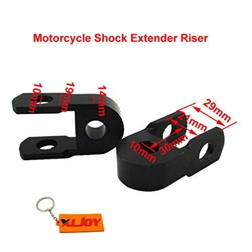 XLJOY Shock Absorber Extender Riser For CRF50 KLX110 TTR50 DRZ110 Dirt Pit Bike ()
