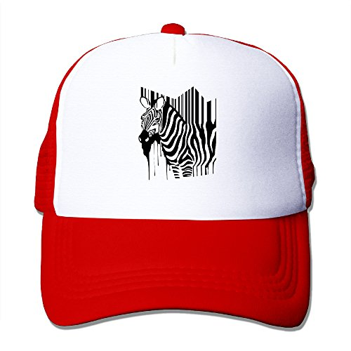 Texhood Creative Zebra Fashion Baseball Cap One Size - Greensboro Seasons 4
