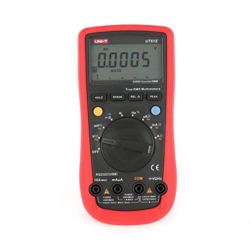 Rs 232 Voltage - UNI-T UT61E 22000 Counts Digital Multimeter with Auto Range True RMS DC/AC Voltage Current Ohm Capacitance Diode RS-232