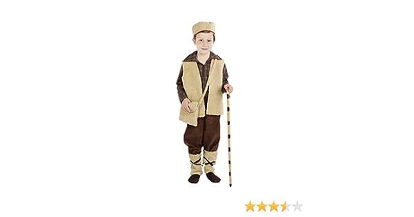 Disfraz de pastor para niño - 3-4 años: Amazon.es: Juguetes y juegos