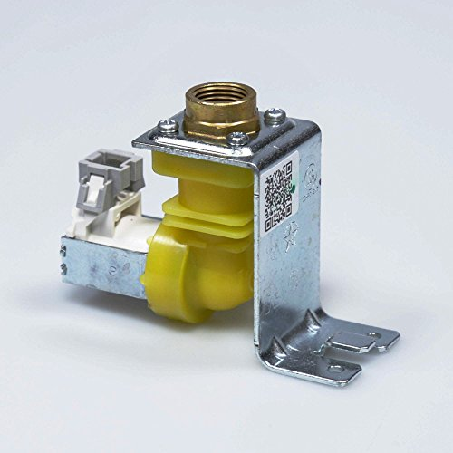 PART # WD15X10015 GENUINE FACTORY OEM ORIGINAL DISHWASHER WATER SOLENOID INLET VALVE FOR GE AND HOTPOINT : REPLACES PS6011659 (Inlet Solenoid)