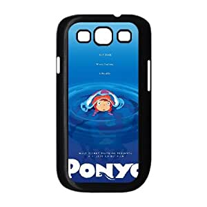Ponyo Samsung Galaxy S3 9300 Cell Phone Case Black JU0060903