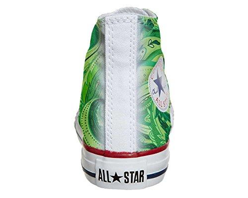 CONVERSE personalizzate All Star Sneaker unisex (Prodotto Artigianale) Abstract
