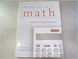Book Real Estate Math: What You Need to Know