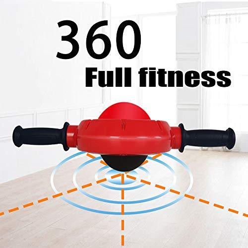 Grist CC 360°Rodillo para Abdominales hipopresivos, Rueda de Aerobic, AB Roller