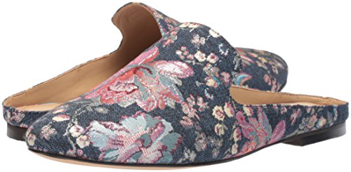 The Fix Women's Dalyah Closed Toe Slide Loafer, Floral Pastel Denim Jacquard Textile, 9.5 B US by The Fix (Image #6)