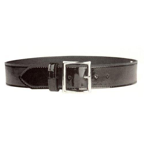 (Hi High Gloss Police Garrison Sam Browne Leather Duty Belt 1-3/4