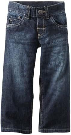 Sprockets Little Boys' Premium 5 Pocket Jeans, Vintage Blast, 4T