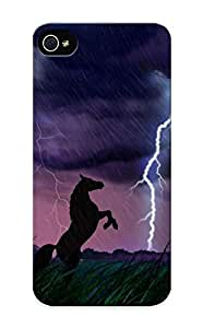 Hot New Animals Storm Horses Case Cover For Iphone 6 4.7 With Perfect Diushoujuan Design