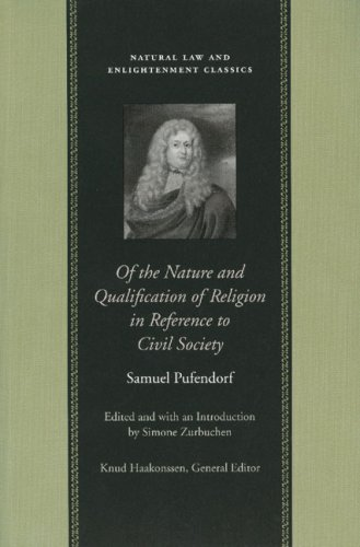 Of the Nature and Qualification of Religion in Reference to Civil Society (Natural Law Paper)