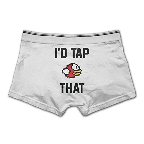 Mens Underwear Id Tap That  Bird Hot Logo Cool Trunk Underwear Briefs