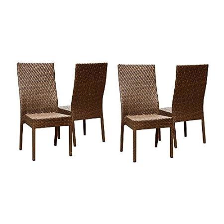 41DIYF6GaJL._SS450_ Wicker Dining Chairs
