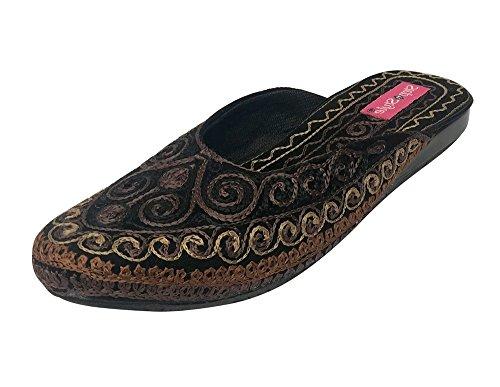 Step n Style , Damen Sandalen mehrfarbig mehrfarbig