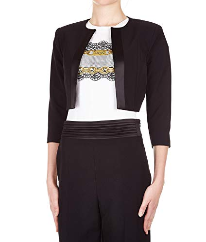 2e000ffd31b0 Liu Jo Women s I19150t789622222 Black Polyester Blazer