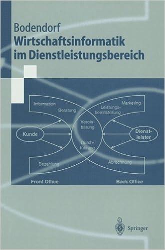 Wirtschaftsinformatik im Dienstleistungsbereich (Springer-Lehrbuch)