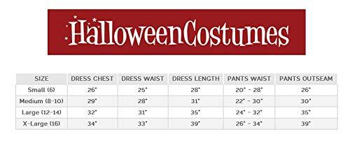 (Girl's Brown Coat Pirate Costume X-Large)