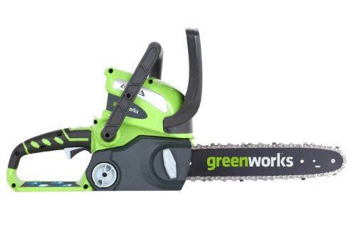 Lowest Prices! GreenWorks 20292 G-MAX 40V 12-Inch Cordless Chainsaw, Battery and Charger Not Include...