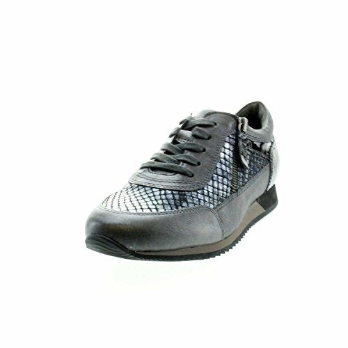 de para cordones 345 de 27 Gabor Gris mujer 56 Piel Zapatos gIqZRZf8