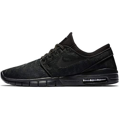 Nike Men's Stefan Janoski Max Black/Black/Anthracite/BlackSneakers - 8.5 D(M) US