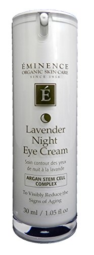 Eminence Lavender Age Corrective Night Eye Cream, 1.05 Ounce