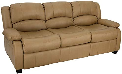 RecPro Charles Collection 80 RV Hide A Bed Loveseat Memory Foam Mattress RV Sleeper Sofa Pull Out Couch RV Furniture RV Loveseat RV Living Room Slideout Furniture Toffee
