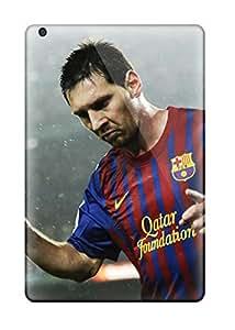 Ipad Mini/mini 2 Case Cover - Slim Fit Tpu Protector Shock Absorbent Case (lionel Messi Foundation)