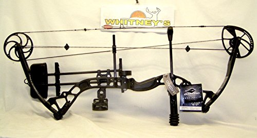 """Diamond by Bowtech- Core - Black Ops Right Hand 40-70# 25-30"""" Draw"""
