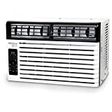 Soleus Air 5,000 BTU 115V Window-Mounted Air Conditioner with Mechanical Controls, White
