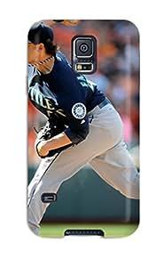 Tara Mooney Popovich's Shop seattle mariners MLB Sports & Colleges best Samsung Galaxy S5 cases 5969452K629129638