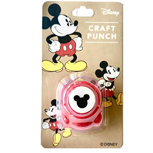 Small Disney Craft Paper Punch of Mickey Mouse Logo (Japan Import)