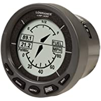 LOWRANCE LOW-000-0049-541 / LMF-400 Multi-function display. MFG# 000-0049-541, Primarily displays fuel, can also display data on NMEA 2000 bus, such as depth, speed, engine and nav data. 2.5 diameter LCD. Fits standard 3-3/8 opening. Fuel sens